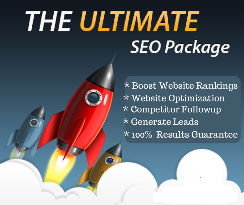 Monthly SEO Package for Boosst Website Rank in Google 1st page