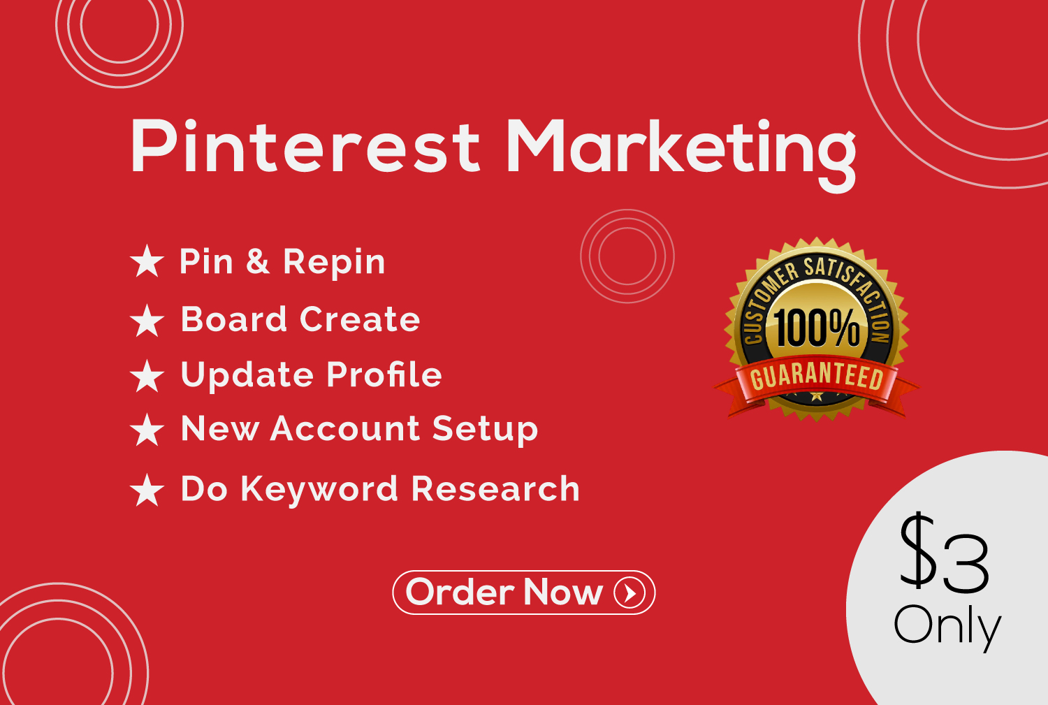 I will do 4 board and 40 pins your Pinterest marketing manager