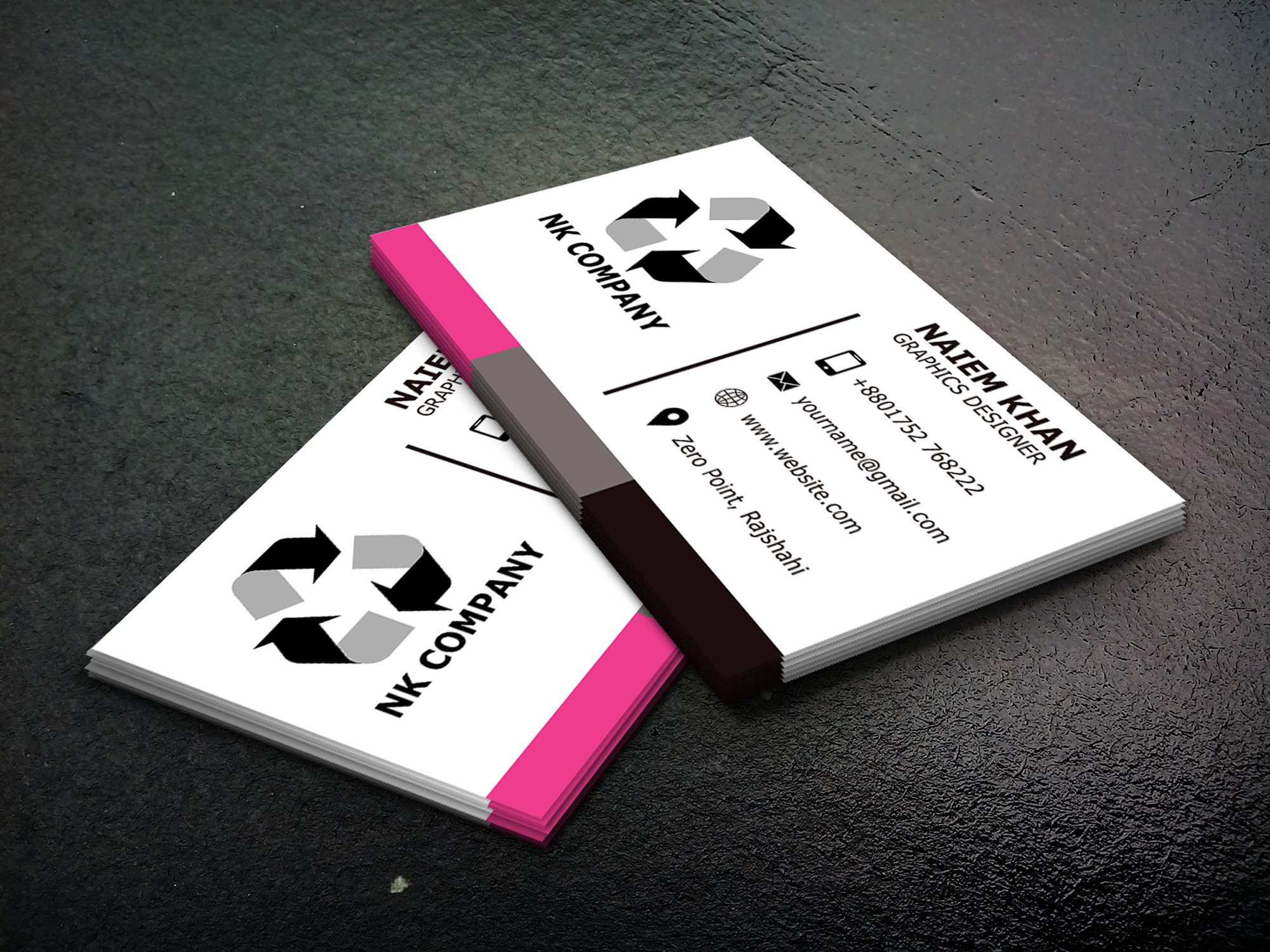 I will creative, unique and professional business card design