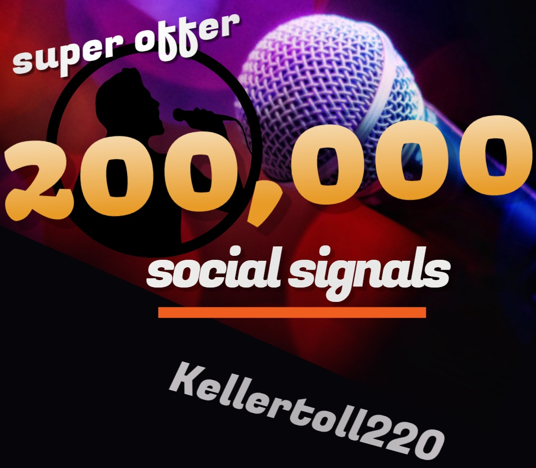 200,000 Web Share Social Signals PR 10 Boost SEO Ranking Rocket