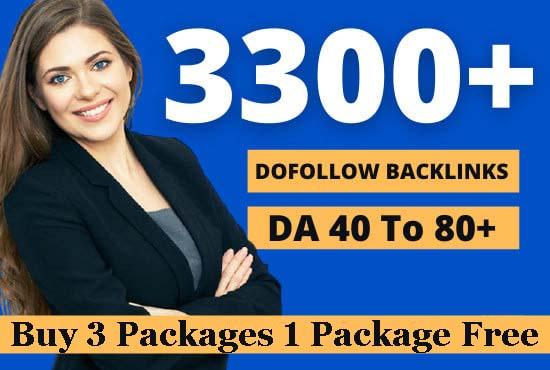 I will build 3300 contextual dofollow backlinks SEO high da link building