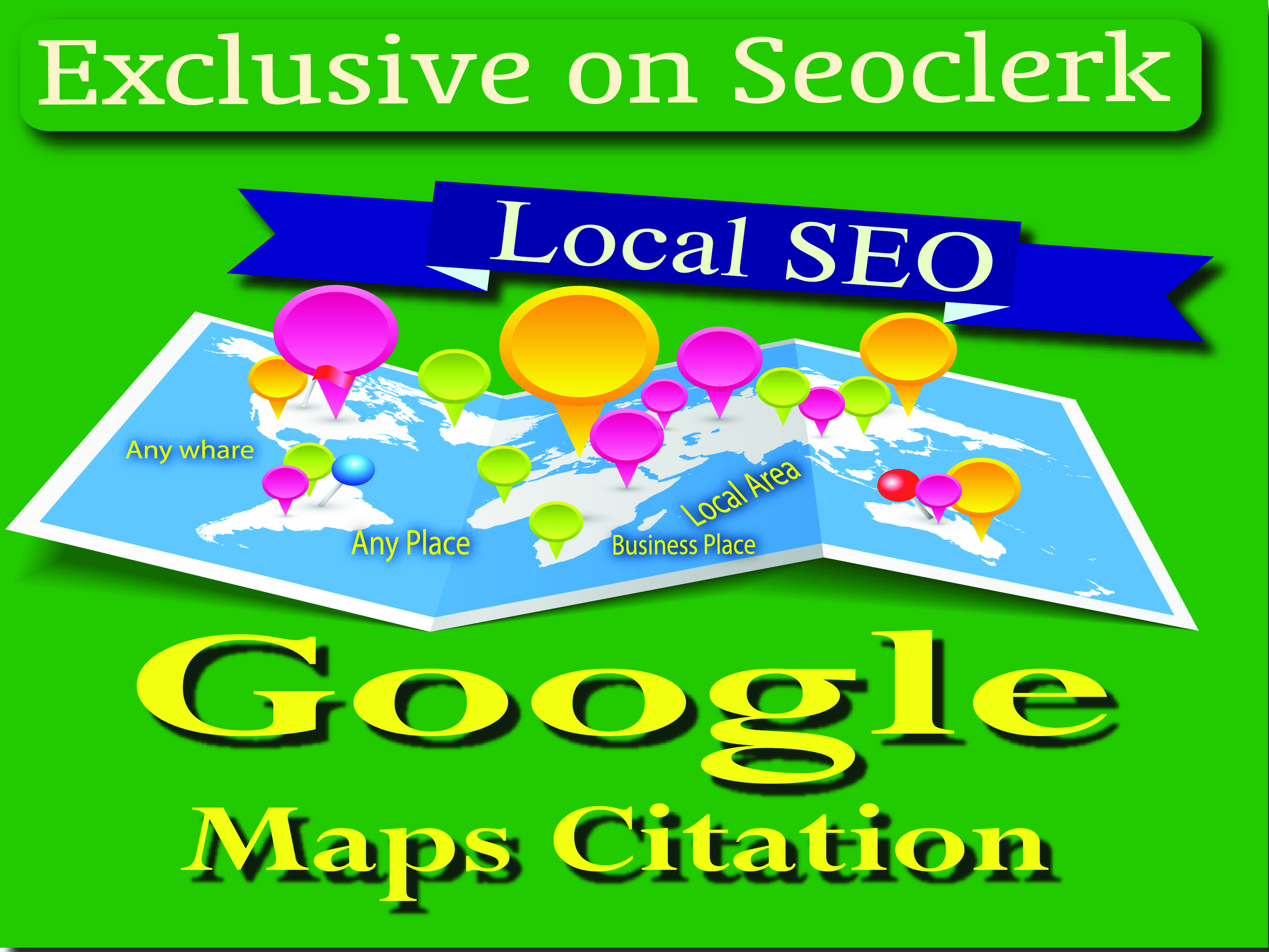 Maps Citations manually 220 create for local SEO service for rank your Business website