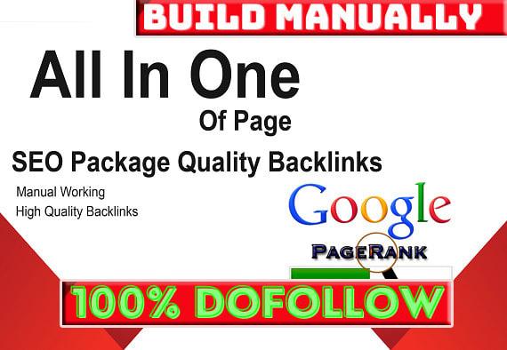 create 3500 dofollow SEO backlinks link building to rank google