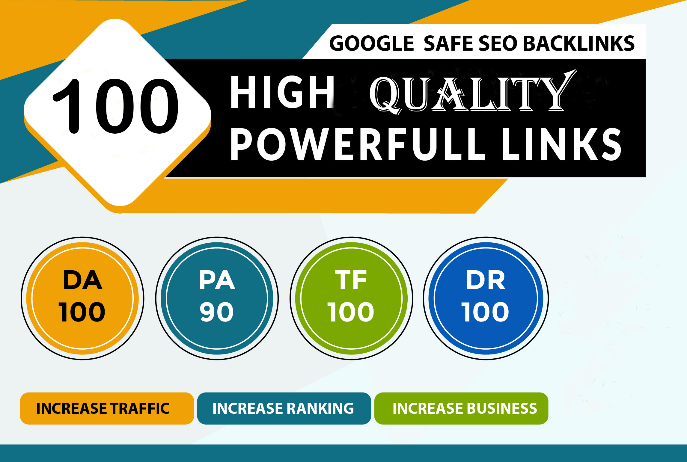 I Will Make 100 Unique Domain High Quality Backlinks