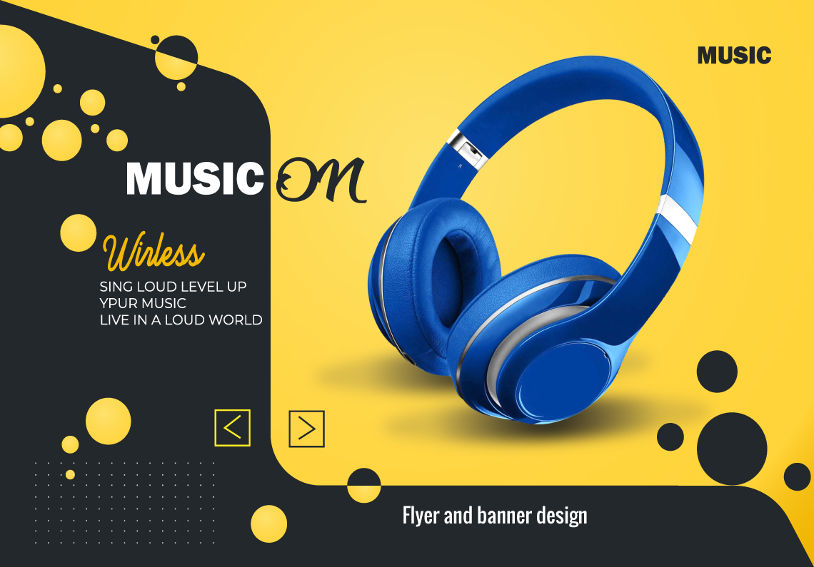 I will do product Banner and flyer design