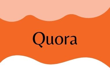 I will do 10 quora question answer and backlink