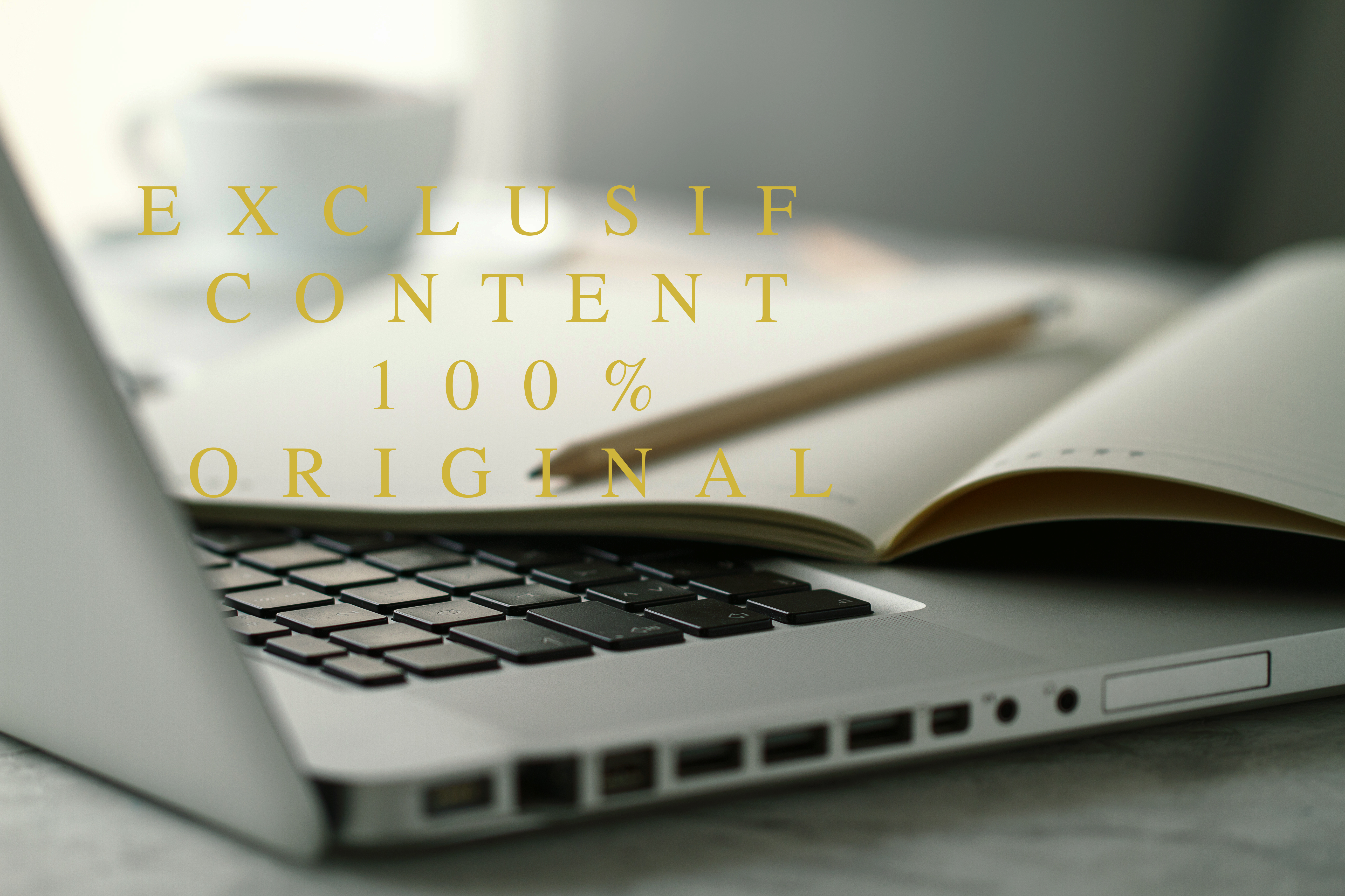 Exclusif content for your website