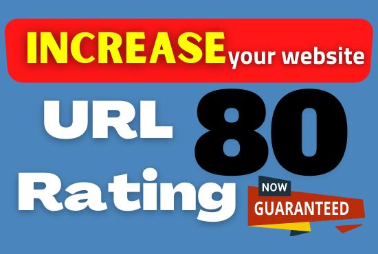 increase url rating ahrefs ur 80