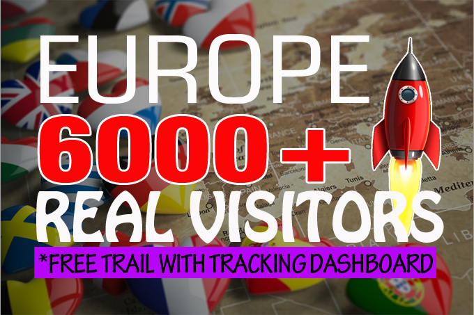 6000+ monthly Europe real organic visitors with AdSense safe and low bounce rate