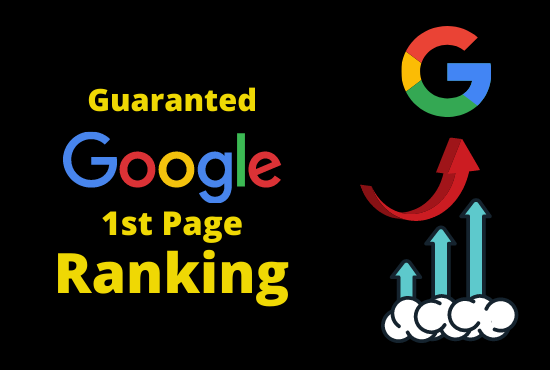 Provide SEO service GOOGLE 1st Page Ranking with Guarantee