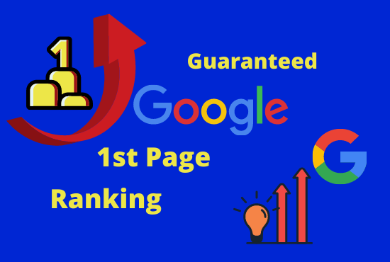 Google 1st page ranking with only White Hat SEO Guarantee