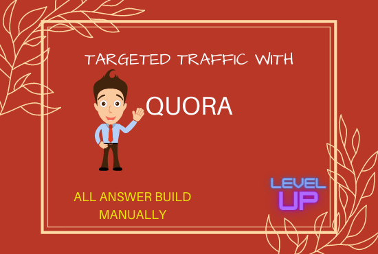 I will create 50 HQ quora answer for your website/business