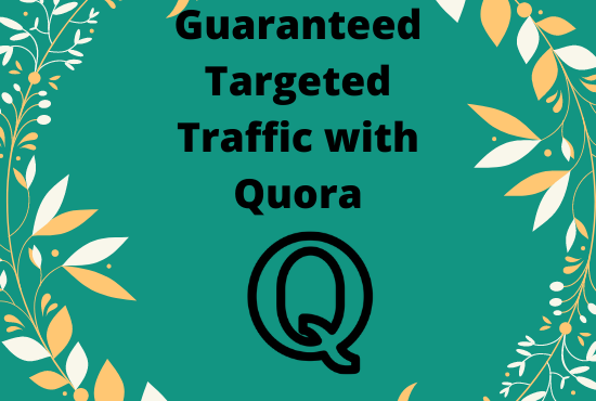 Promote your website in 8 High quality Quora Answer with link
