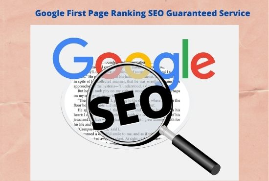 Guaranteed google first page ranking with best linkbuilding service
