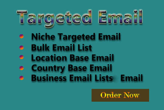 Collect Niche Based Targeted Email List Email List Building