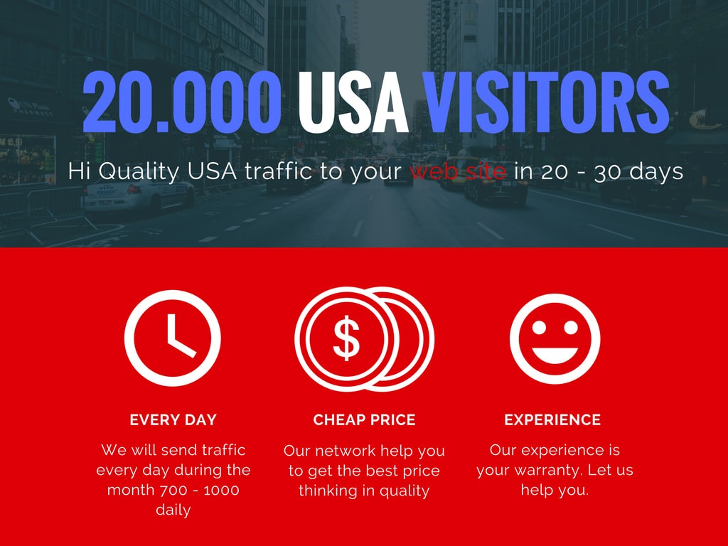 I will boost website organic real organic targeted USA web traffic