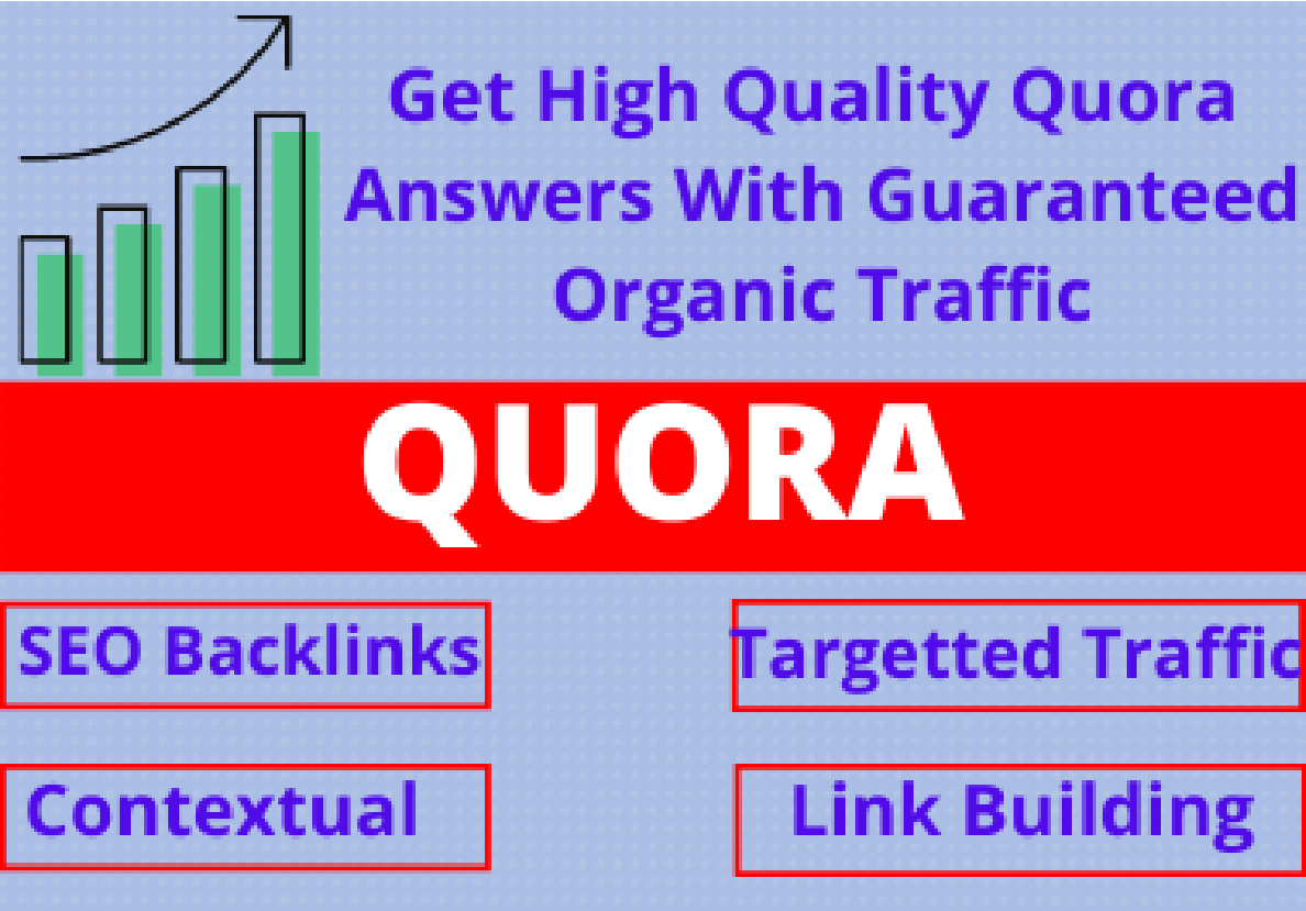 40 manual Quora answers for backlinks