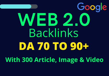 Create 5 Web 2.0 Backlinks To Rank Your Website On Google