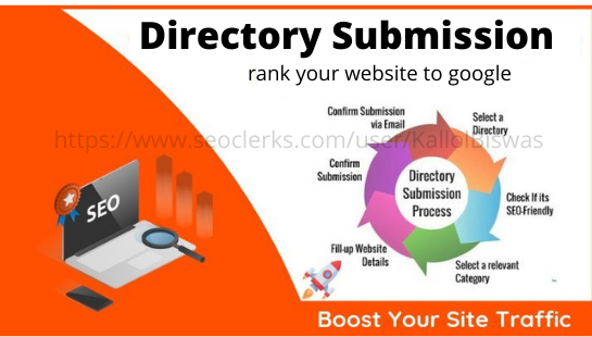 I will create 100 HQ directory submission white hat SEO backlinks