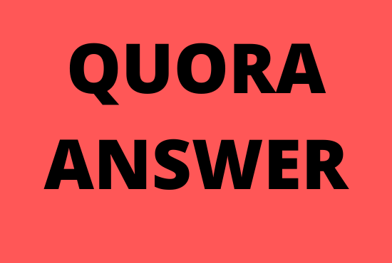 Offer Guaranteed targeted traffic with high-quality 40 Quora answers