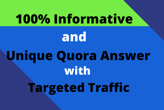 Promote Your Site with 10 manually Quora Answer