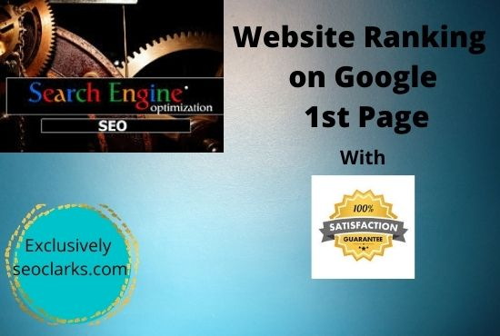 Rank your Website's on Top Google Rankings with 100 Quality Backlinks