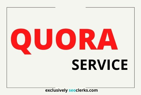Provide 30 HQ Quora Answer with Site Link