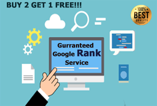 I will do First Page of google top rankings with permanent backlinks