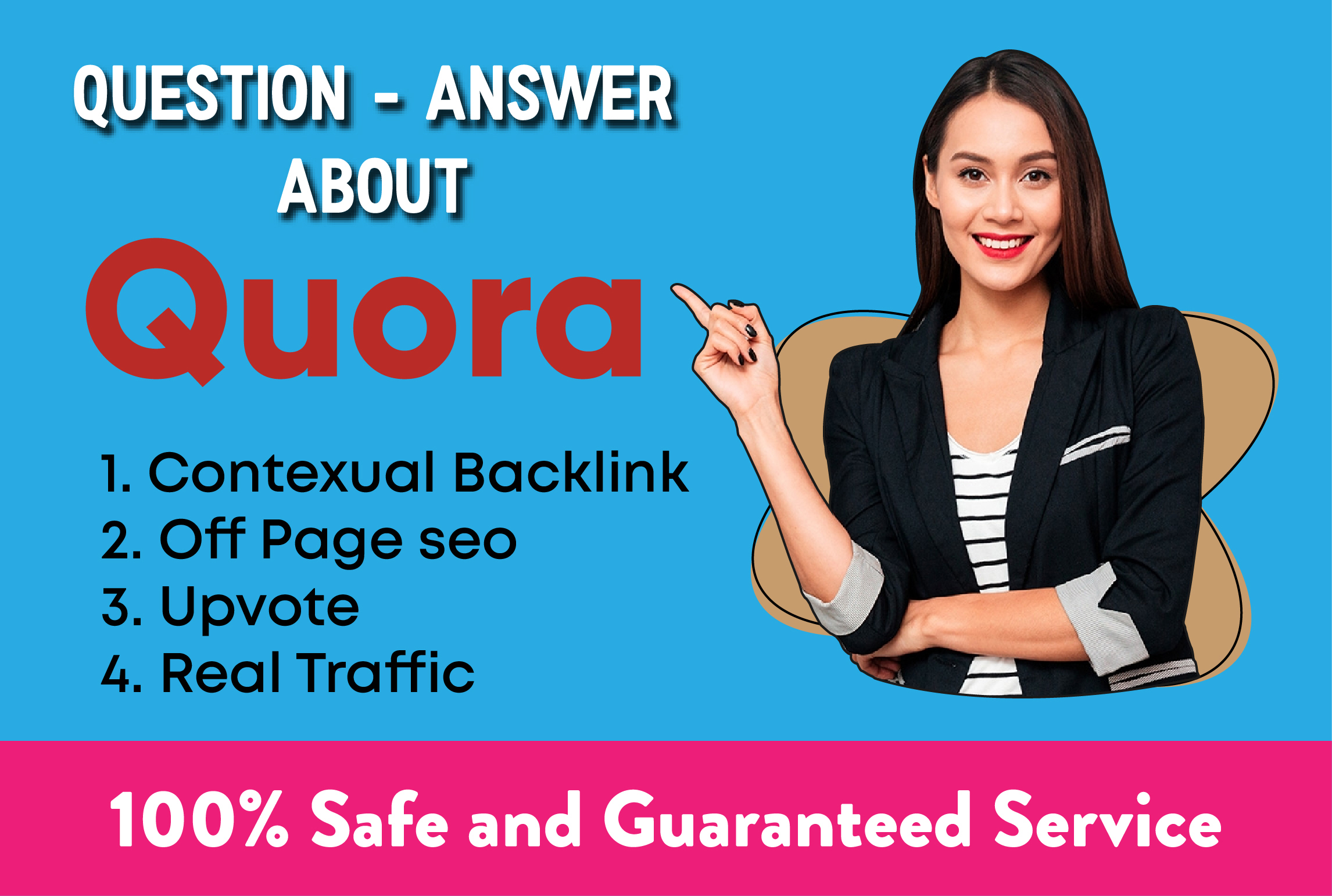 Bring targeted traffic with 40 Quora