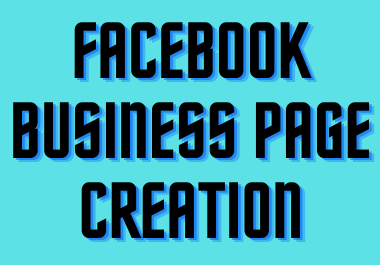 Do Facebook Business Page creation and set up
