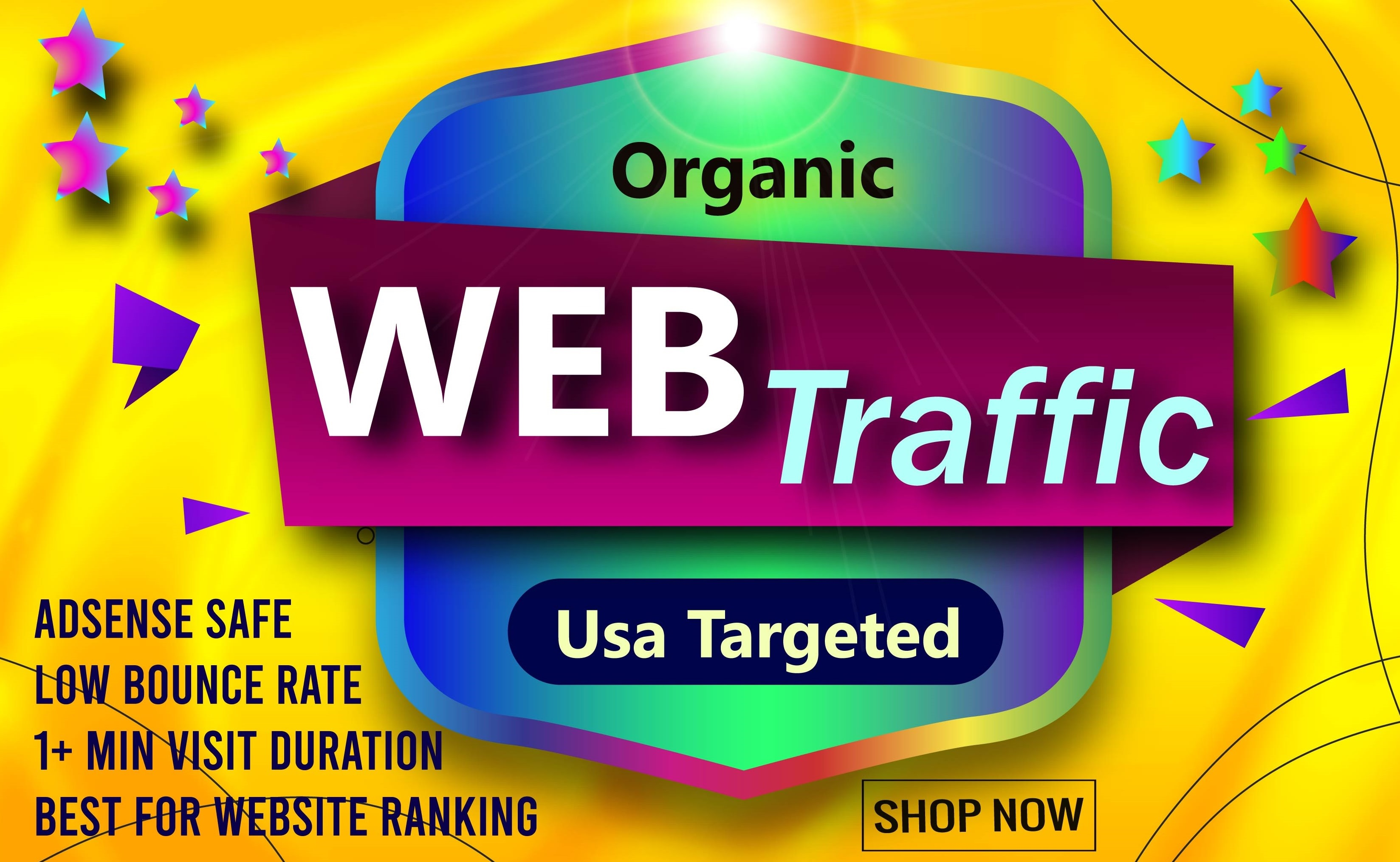 1-2 Min Visit USA Social Traffic Traffic for 30 days