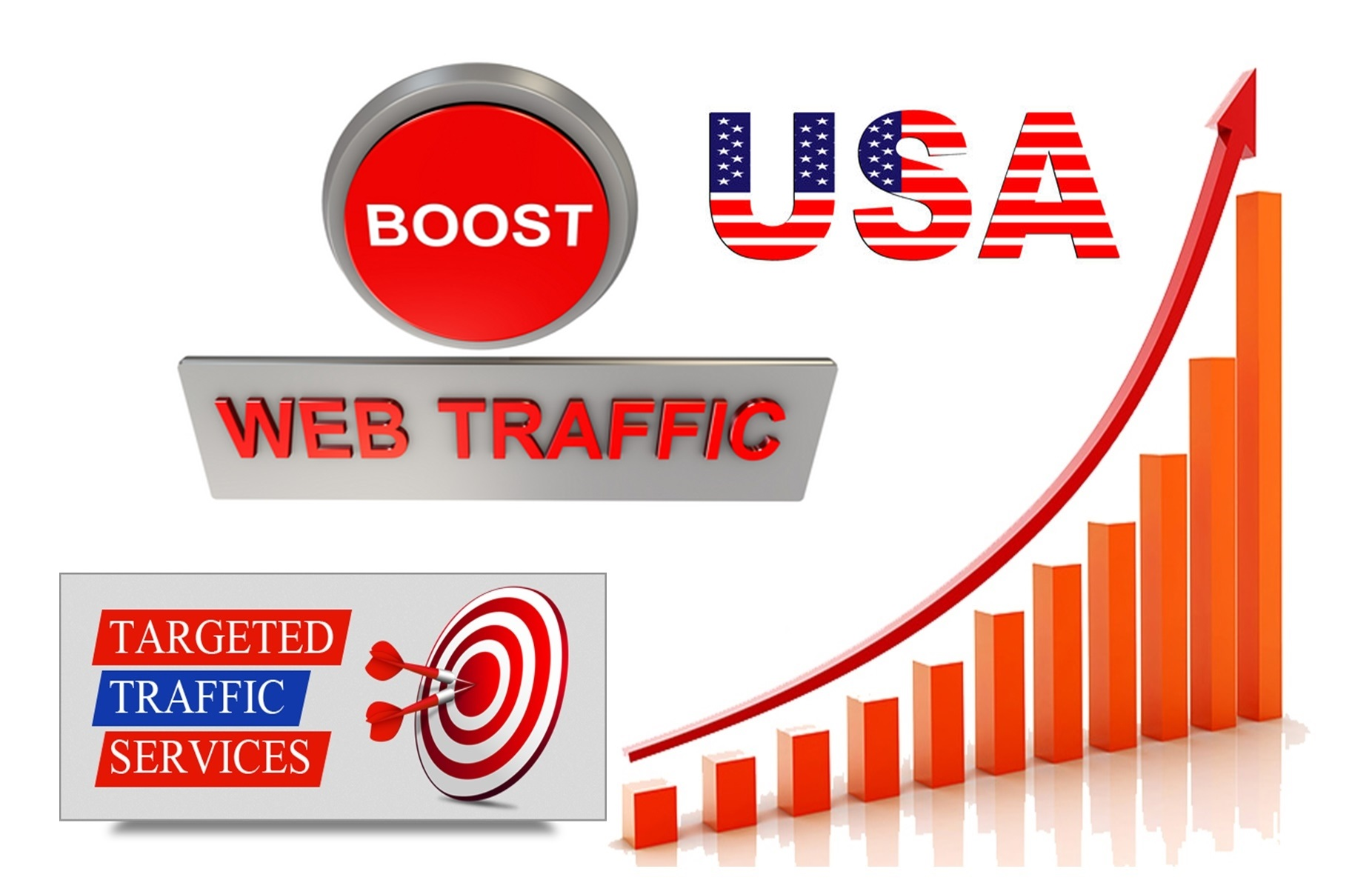 100+ Real human traffic from Social Media for 15 days