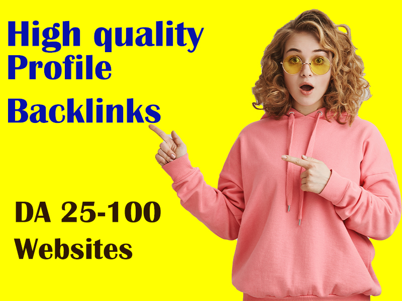 I Will Do Manually 150 Profile Backlinks