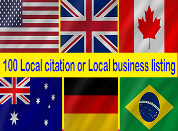 100 Local Citations or Local Business Listing Manually for Your Business
