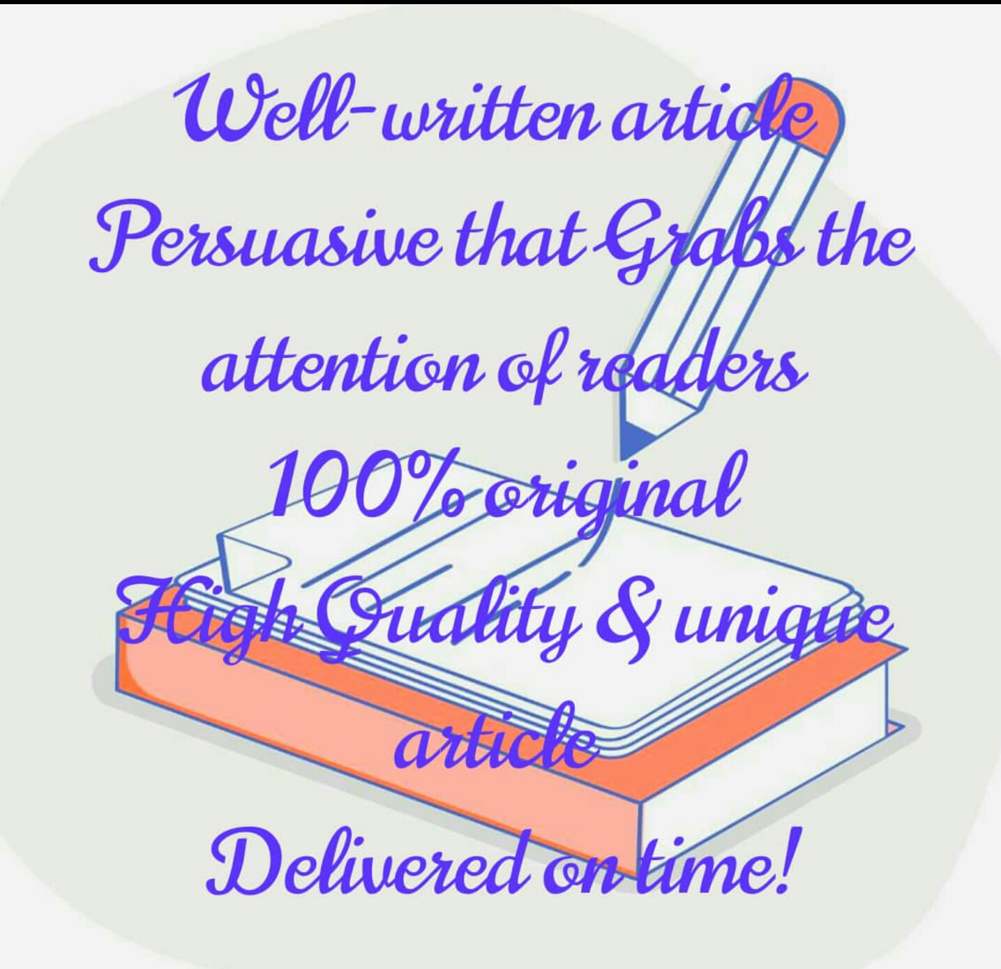 Well-written 500 words article or website Content Persuasive that Grabs the attention