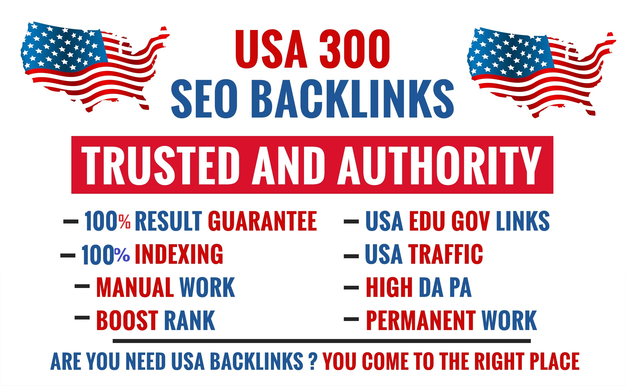 Create manual 300 pr9 usa dofollow backlinks