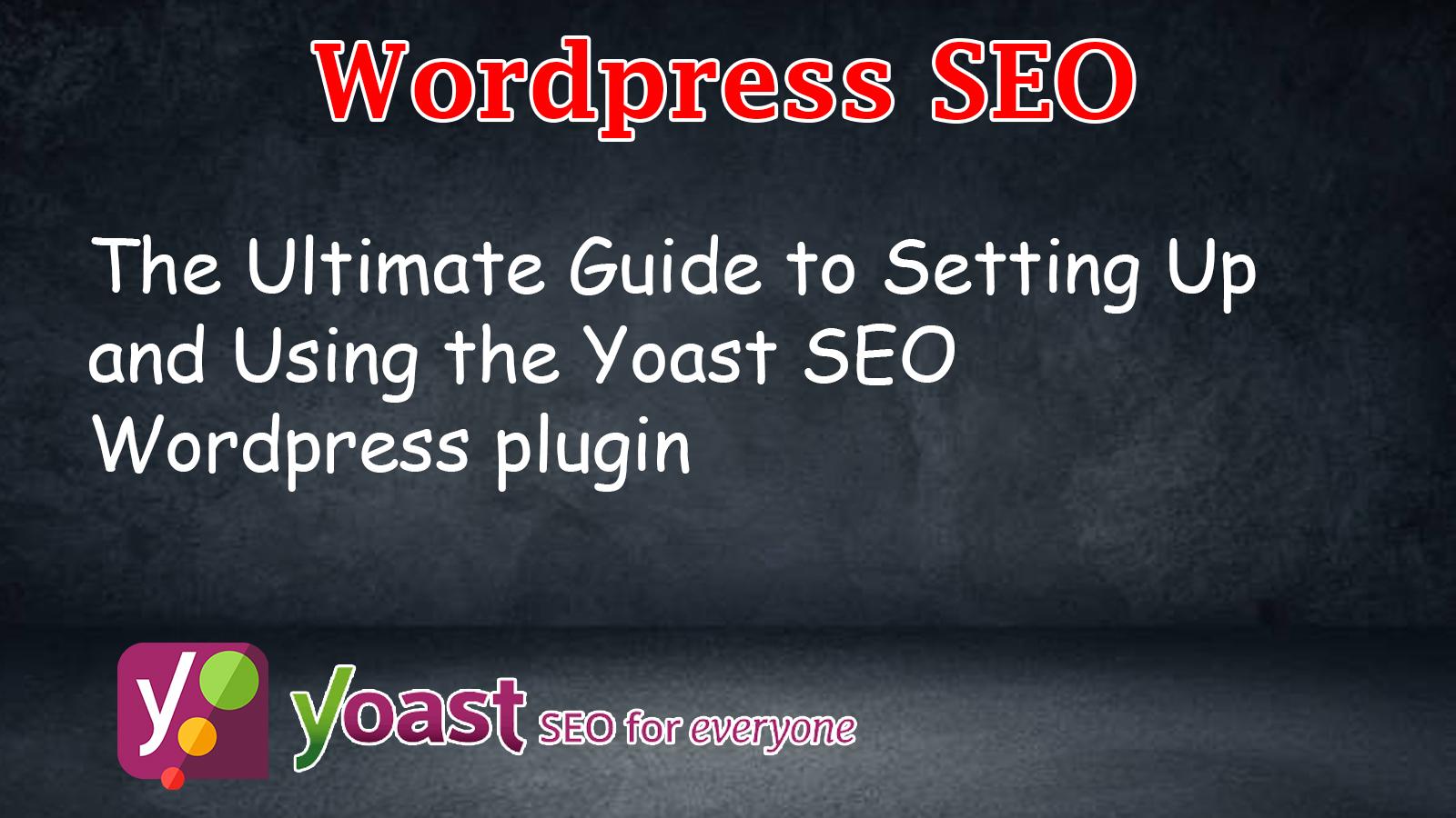 I will do yoast wordpress ON page SEO with yoast premium plugin