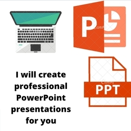 I will design,  edit,  format,  create 4 PowerPoint presentation & PPT slides for you