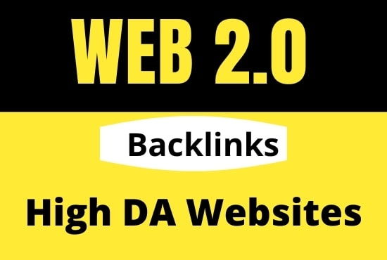 create 100+ high authority web 2.0 backlinks