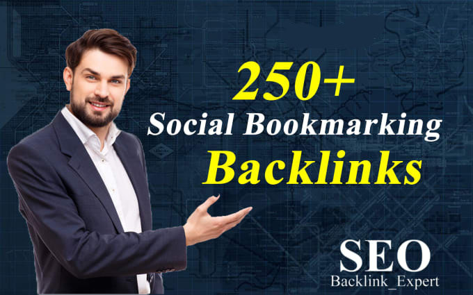 Create 250+ manually social bookmarking backlinks