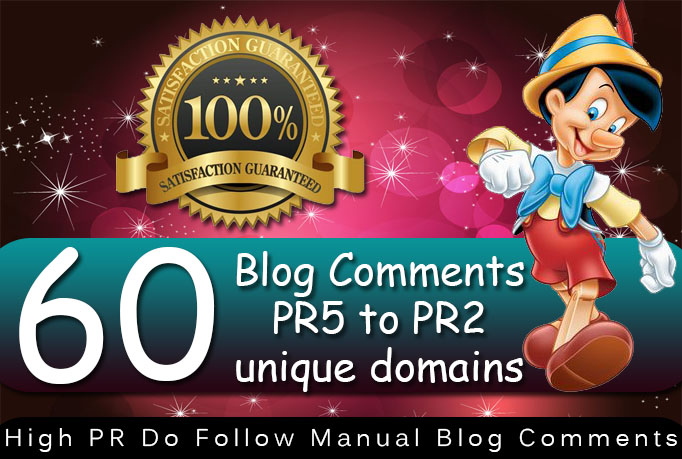 I will do 60 manual dofollow backlinks high tf cf da pa