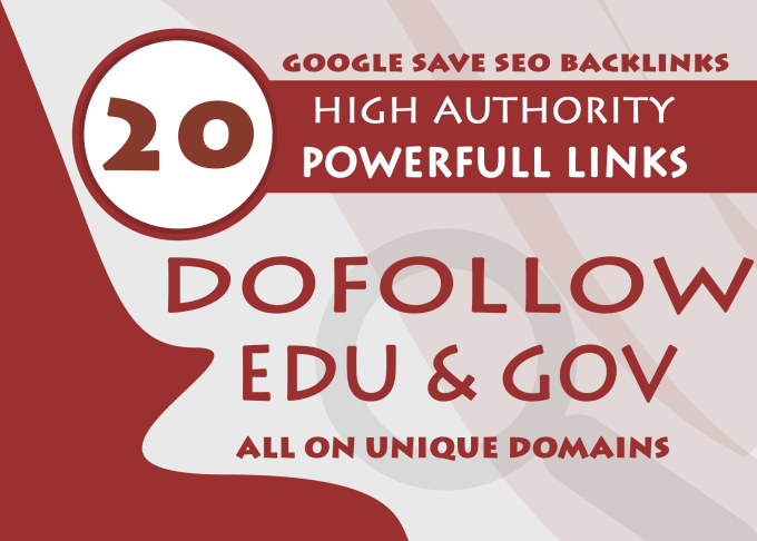 I will create 20 high authority edu Blog comments, link building service powerful website backlinks