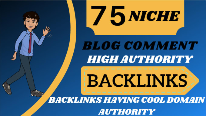 I will create 75 niche relevant low obl blog comment backlinks