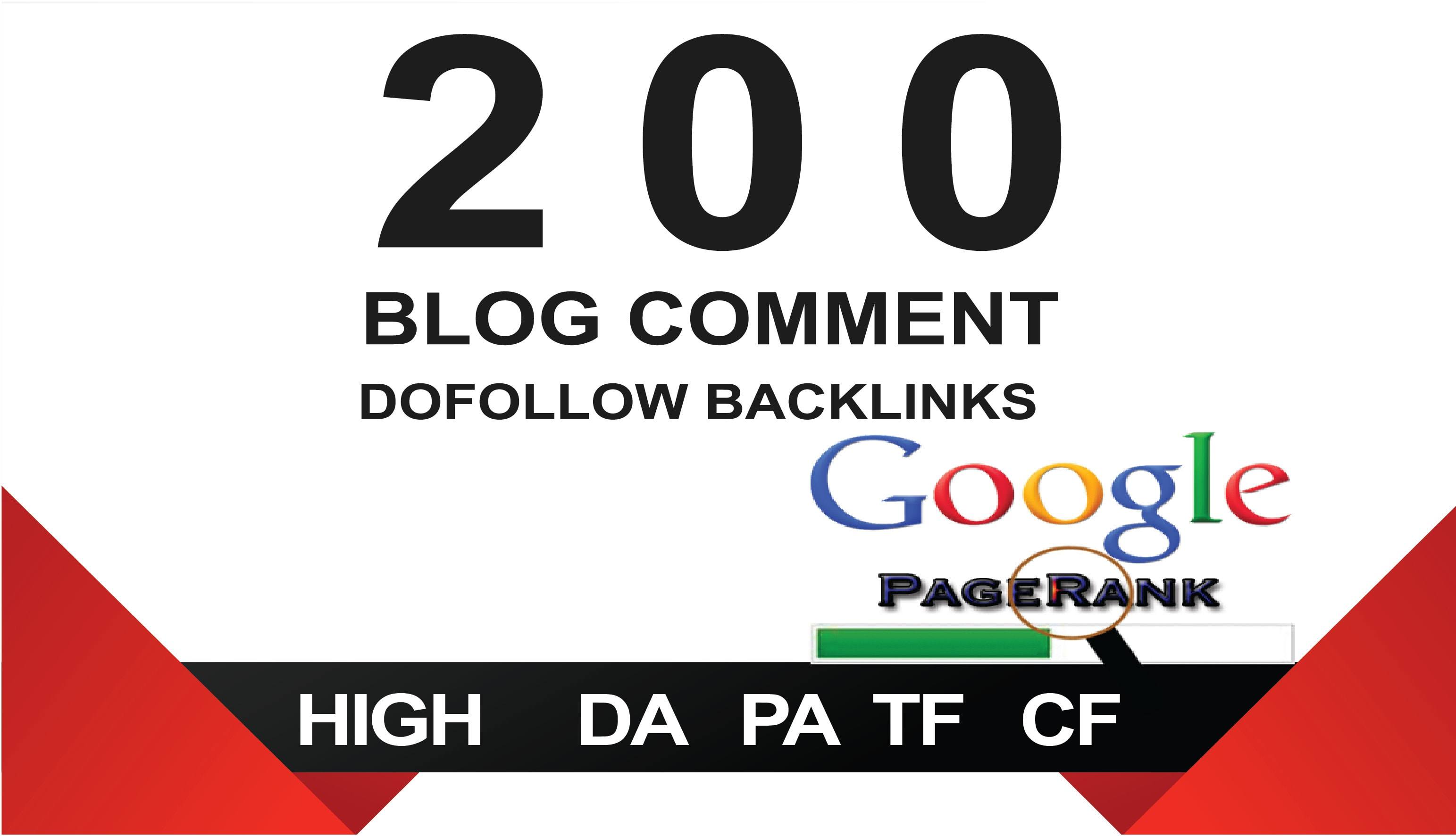 I will create 200 unique dofollow blog comment backlinks