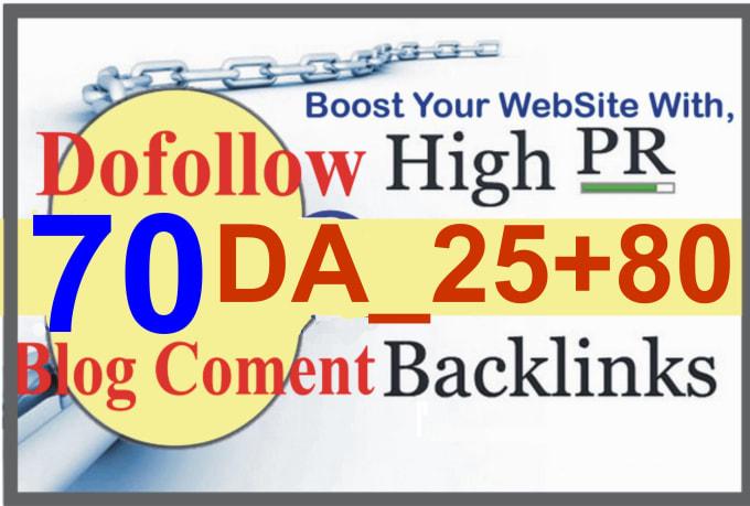 I will build high quality high authority dofollow backlinks seo