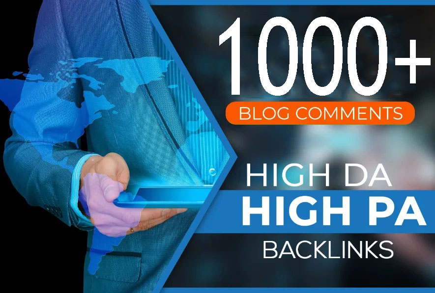 I will create 1000 dofollow blog comments high quality seo backlinks