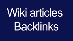 I Will do 330+ High Quality Wiki articles contextual backlinks
