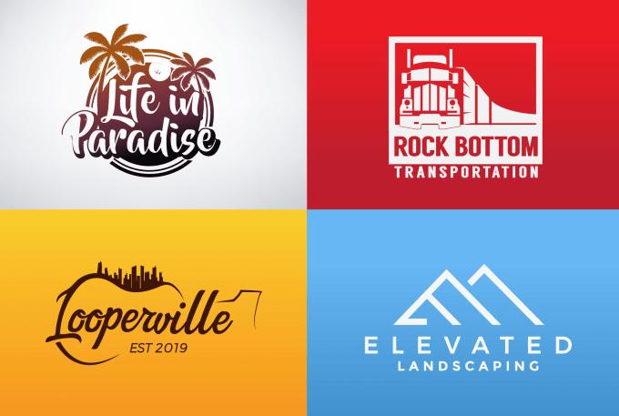 3-4 Concepts professional logo designer in 24hrs