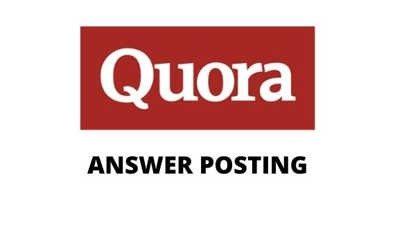 I will offer 5 HQ Quora answers with permanent Backlinks
