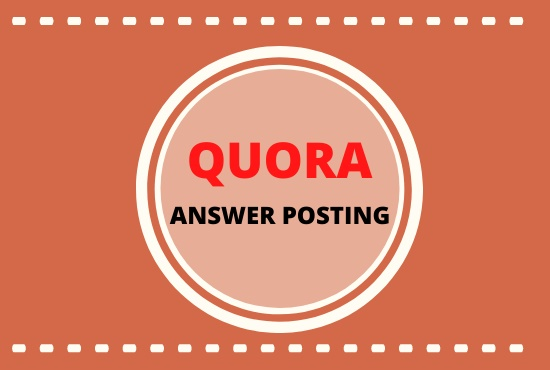 Promote your website with 5 HQ Quora answer posting